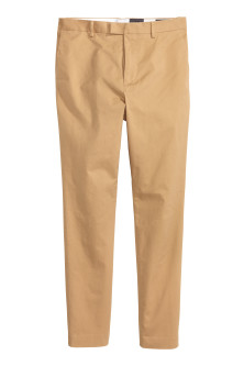 Premium cotton chinos