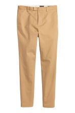 Premium cotton chinos - Beige - Men | H&M 4