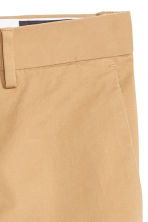 Premium cotton chinos - Beige - Men | H&M 7