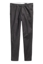 Premium cotton chinos - Anthracite grey - Men | H&M CN 4