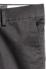 Premium cotton chinos - Anthracite grey - Men | H&M CN 6