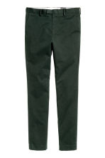 Premium cotton chinos - Dark green - Men | H&M 2