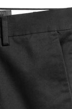 Premium cotton chinos - Black - Men | H&M 5
