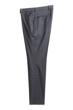 Wool suit trousers - Dark blue - Men | H&M CN 2