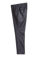 Pantaloni in lana Slim fit - Blu scuro - UOMO | H&M IT 2