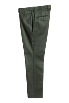 Premium cotton suit trousers