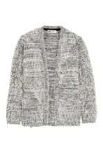Knitted cardigan - Grey marl - Kids | H&M CN 2