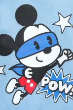 Printed T-shirt - Light blue/Mickey Mouse - Kids | H&M CN 2