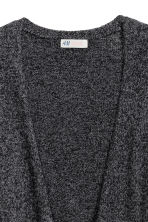 Knitted cardigan - Black marl - Kids | H&M CN 3