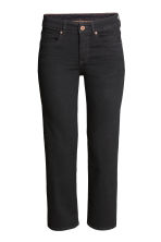 Kick Flare Ankle Jeans - Black - Ladies | H&M CN 1