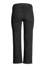 Kick Flare Ankle Jeans - Black - Ladies | H&M CN 2