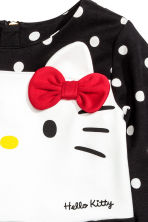 Jersey dress - Black/Hello Kitty - Kids | H&M CN 3