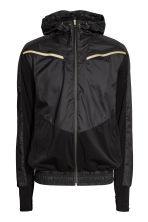 Running jacket - Black - Men | H&M CN 2