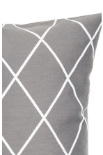 Jacquard-weave cushion cover - Grey/Patterned - Home All | H&M GB 3