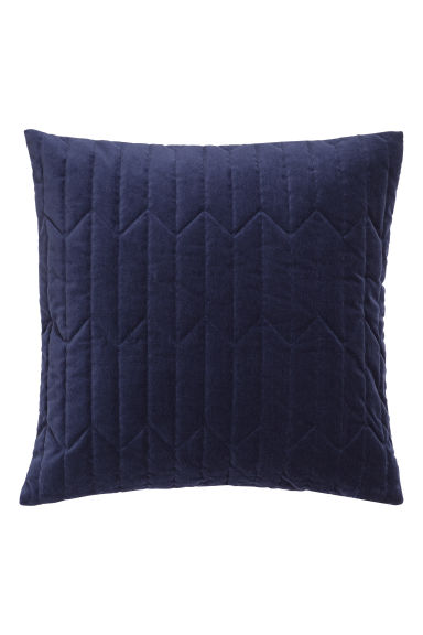 Copricuscino trapuntato - Blu scuro - HOME | H&M IT 1