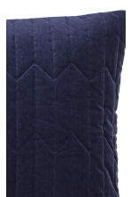 Copricuscino trapuntato - Blu scuro - HOME | H&M IT 2