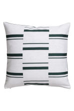 Copricuscino motivi jacquard - Verde scuro/fantasia - HOME | H&M IT 2