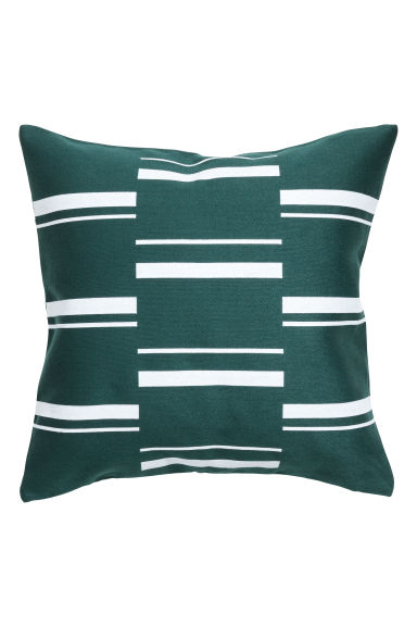 Copricuscino motivi jacquard - Verde scuro/fantasia - HOME | H&M IT 1