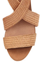 Sandals - Natural - Ladies | H&M CN 4