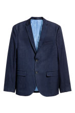 Giacca Slim fit - Blu scuro - UOMO | H&M IT 2