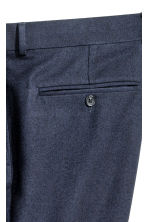 Pantaloni da completo Slim fit - Blu scuro - UOMO | H&M IT 4
