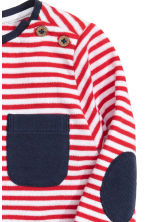 Long-sleeved T-shirt - Red/Striped -  | H&M CN 2