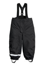 Outdoor trousers with braces - Black - Kids | H&M CN 2