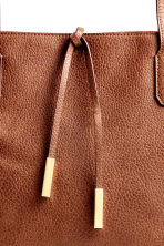 Shopper con stringhe - Cognac - DONNA | H&M IT 3