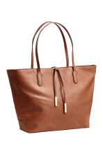 Shopper con stringhe - Cognac - DONNA | H&M IT 2