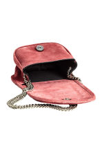 Suede shoulder bag - Vintage pink -  | H&M GB 3