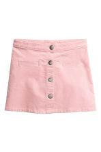 A-line velvet skirt - Light pink - Kids | H&M CN 2
