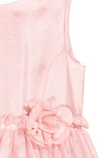 Glittery tulle dress - Light pink - Kids | H&M CN 3