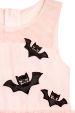 Tulle bat dress - Light pink/Bats - Kids | H&M CN 3