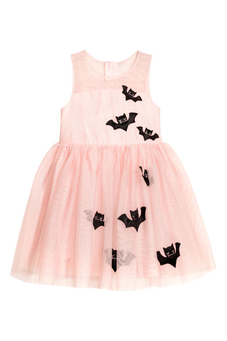 Tulle bat dress