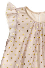 Tulle dress - Light mole/Spotted - Kids | H&M CN 3