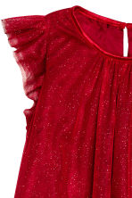 Tulle dress - Red/Glitter - Kids | H&M CN 3