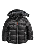 Padded winter jacket - Black -  | H&M CN 2