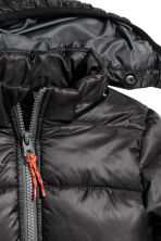 Padded winter jacket - Black -  | H&M CN 3