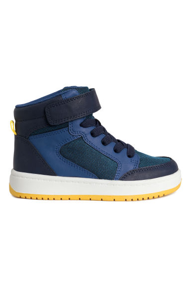Sneakers alte - Blu scuro/blu - BAMBINO | H&M IT 1
