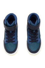Sneakers alte - Blu scuro/blu - BAMBINO | H&M IT 2
