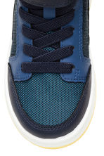 Sneakers alte - Blu scuro/blu - BAMBINO | H&M IT 3