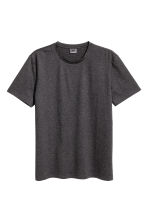優質棉T恤 - Dark grey marl - Men | H&M 3