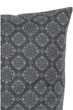 Housse de coussin à motif - Gris anthracite - Home All | H&M FR 3