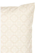 Patterned cushion cover - Light beige - Home All | H&M CN 2
