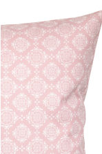 Patterned cushion cover - Light pink - Home All | H&M CN 2
