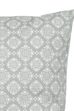 Patterned cushion cover - Light grey - Home All | H&M CN 2