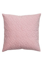 Copricuscino trapuntato - Rosa chiaro - HOME | H&M IT 1
