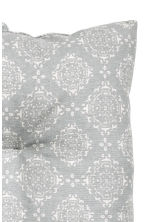 Galette de chaise à motif - Gris clair - Home All | H&M FR 2