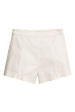 Shorts corti in twill - Bianco - DONNA | H&M IT 1
