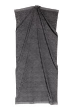 Jacquard-patterned bath towel - Dark grey - Home All | H&M CN 2